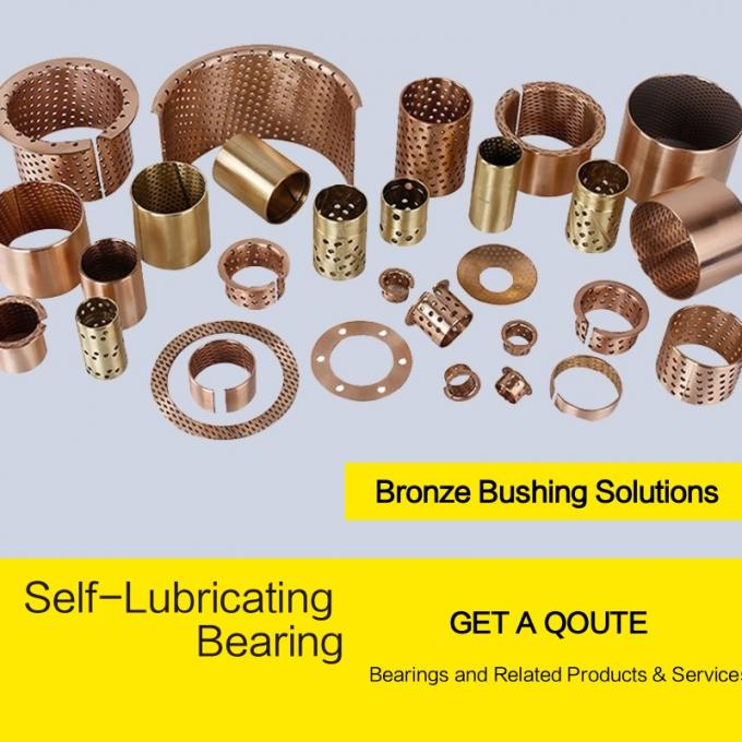 wrapped bronze bushings